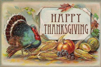 A Happy Thanksgiving Greeting to You